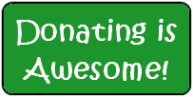 Donating is Awesome